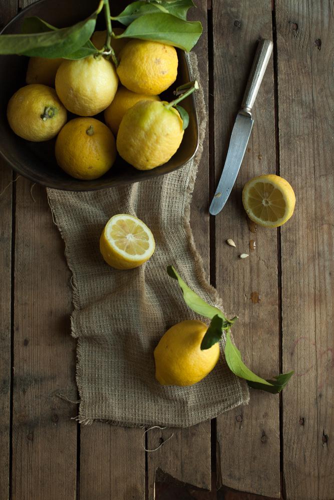 Torta al limone e farina di mandorle