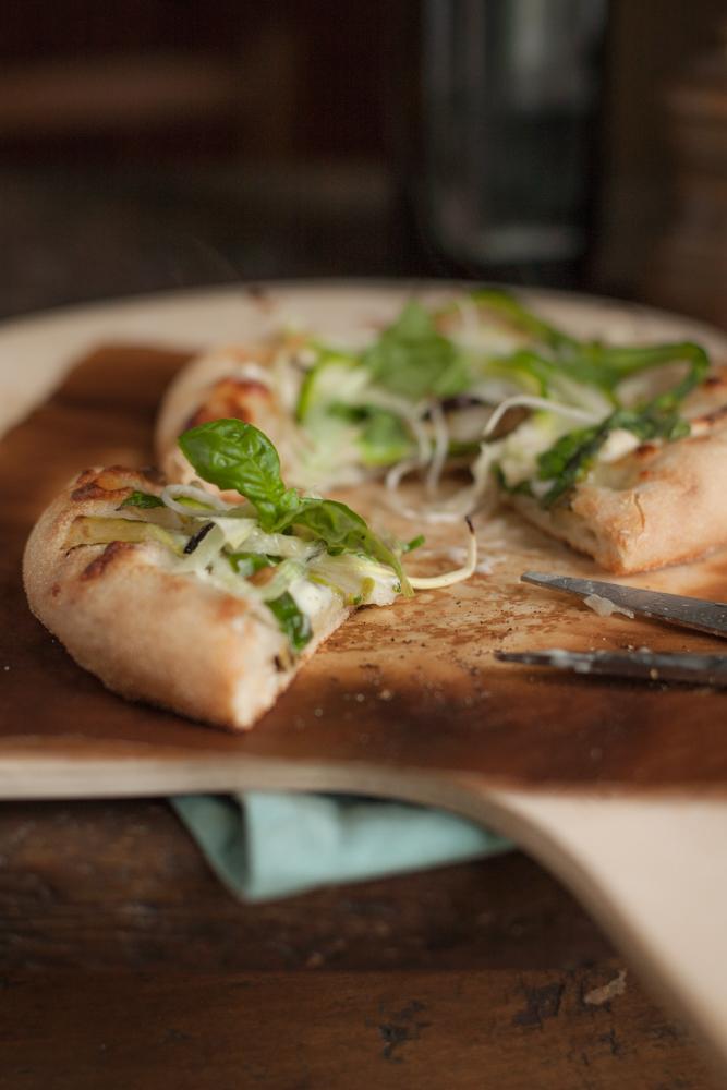 pizza bianca con lievito madre