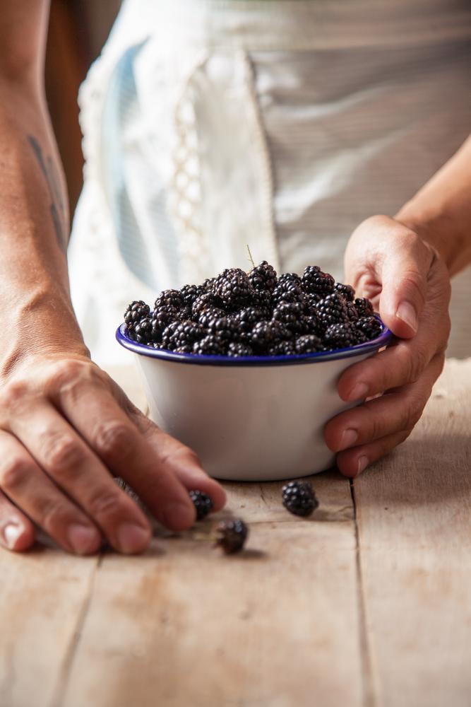 more-wild blackberries
