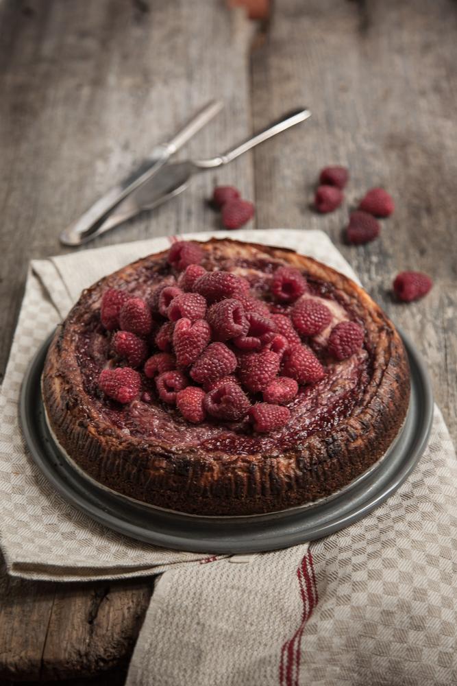 raspberries cheesecake-3-2