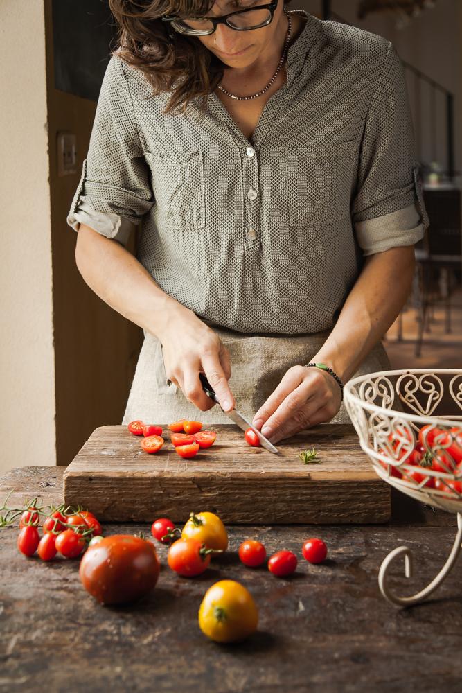 crostata di segale con pomodori e quartirolo-6