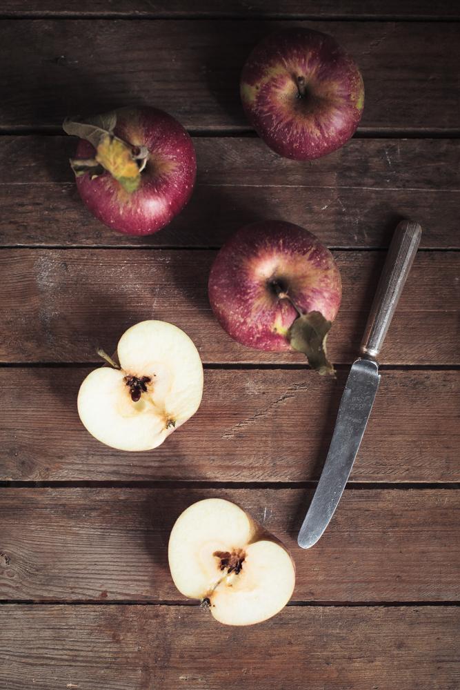 torta di mele antiche - heirloom apples cake-3