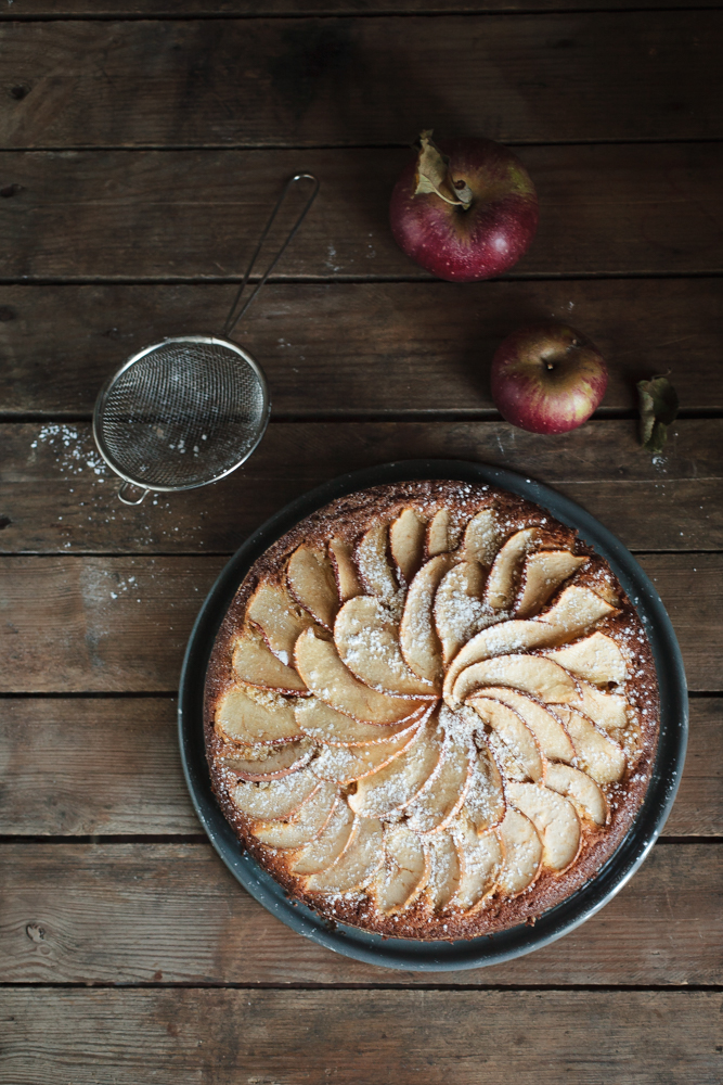 torta di mele antiche - heirloom apples cake-4