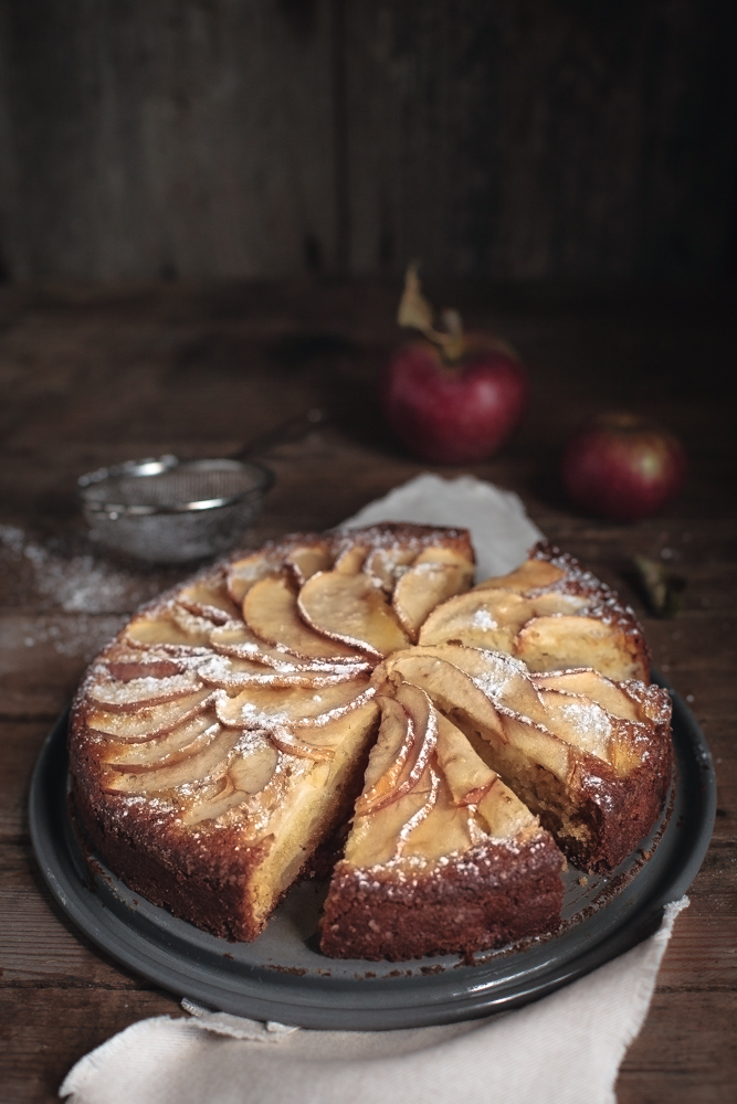 torta di mele antiche - heirloom apples cake-5