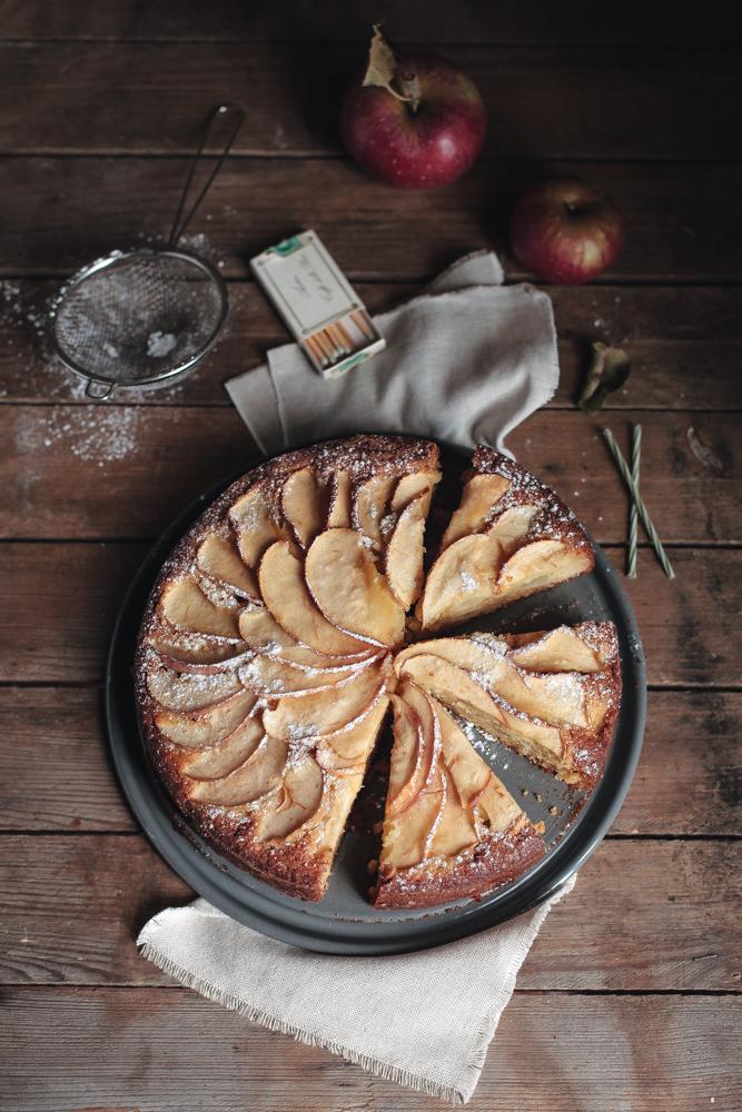 torta di mele antiche - heirloom apples cake-6