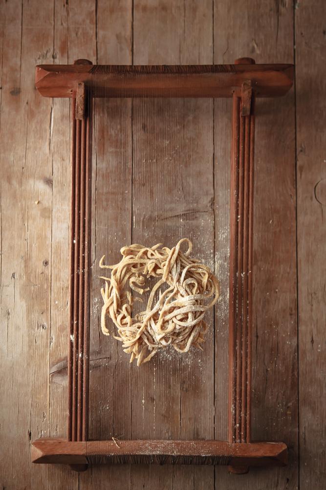 spaghetti alla chitarra zucca e pomodoro giallo-3