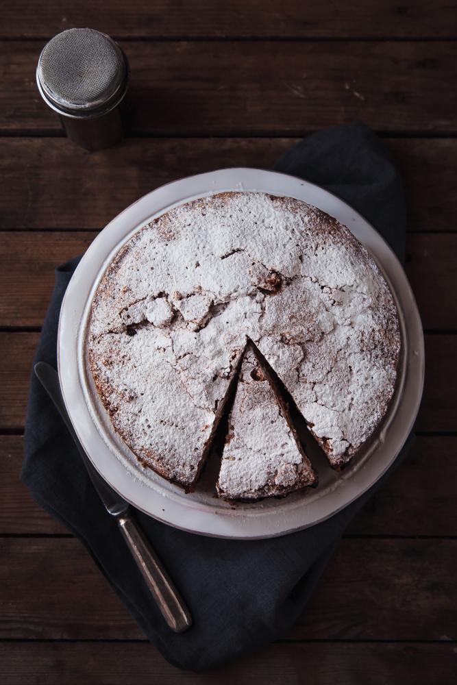 Torta morbida di grano saraceno senza lievito nè burro-2