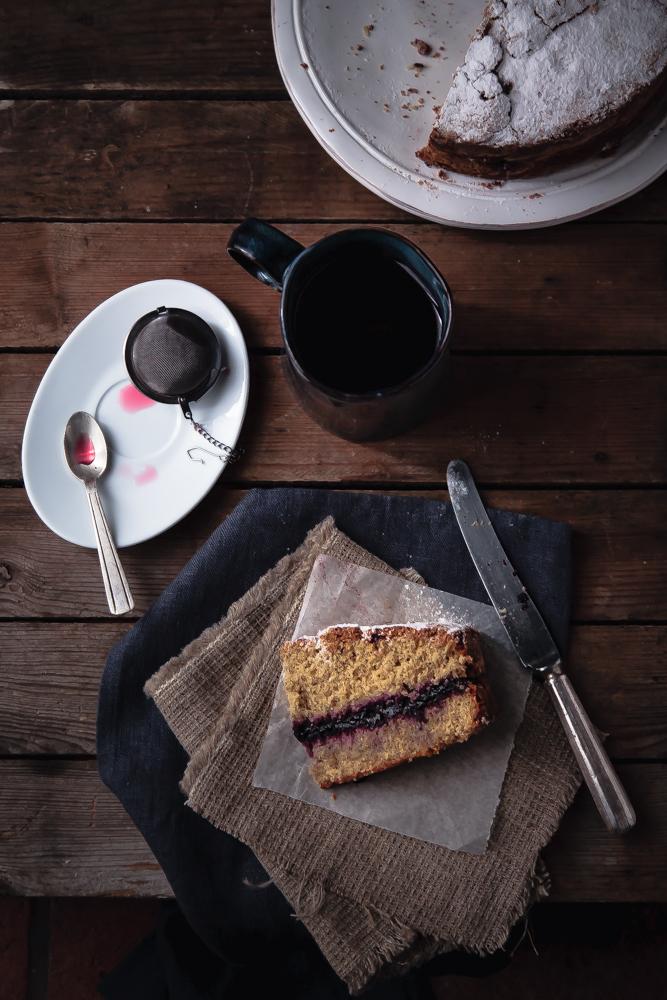 Torta morbida di grano saraceno senza lievito nè burro (2)