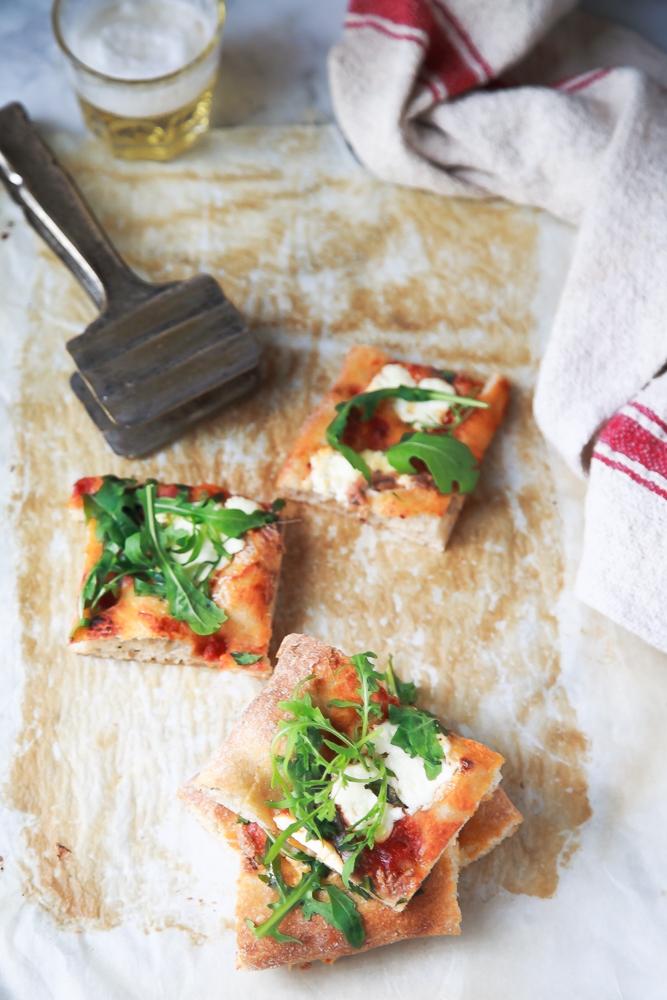Pizza integrale alla pala-3