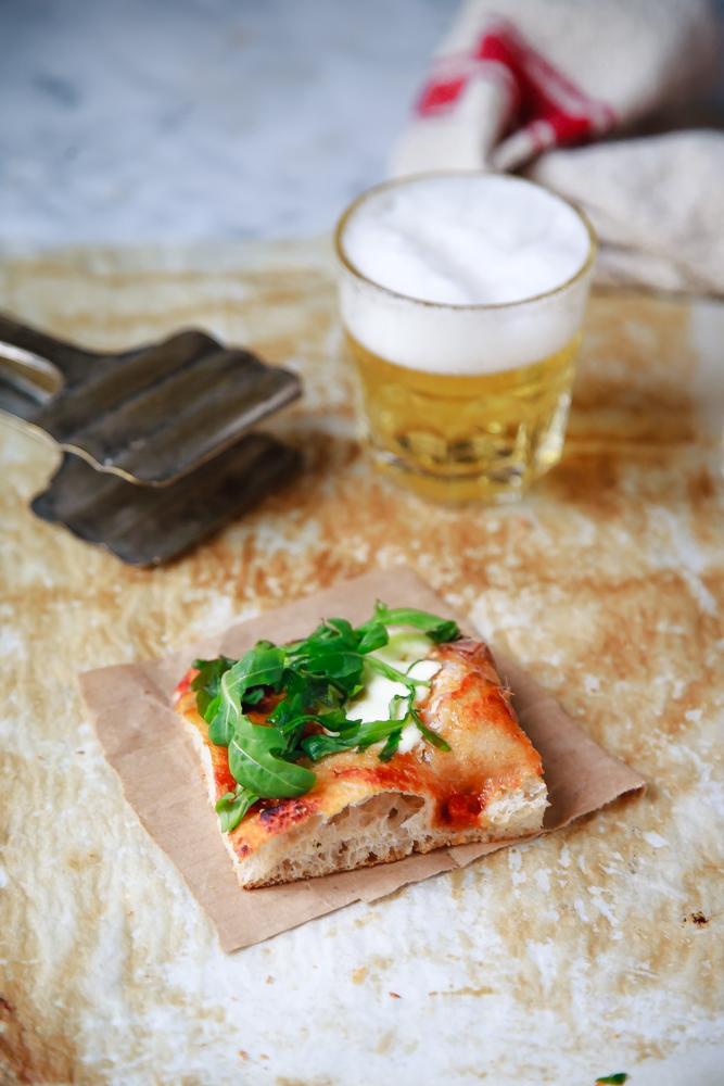 Pizza integrale alla pala-4