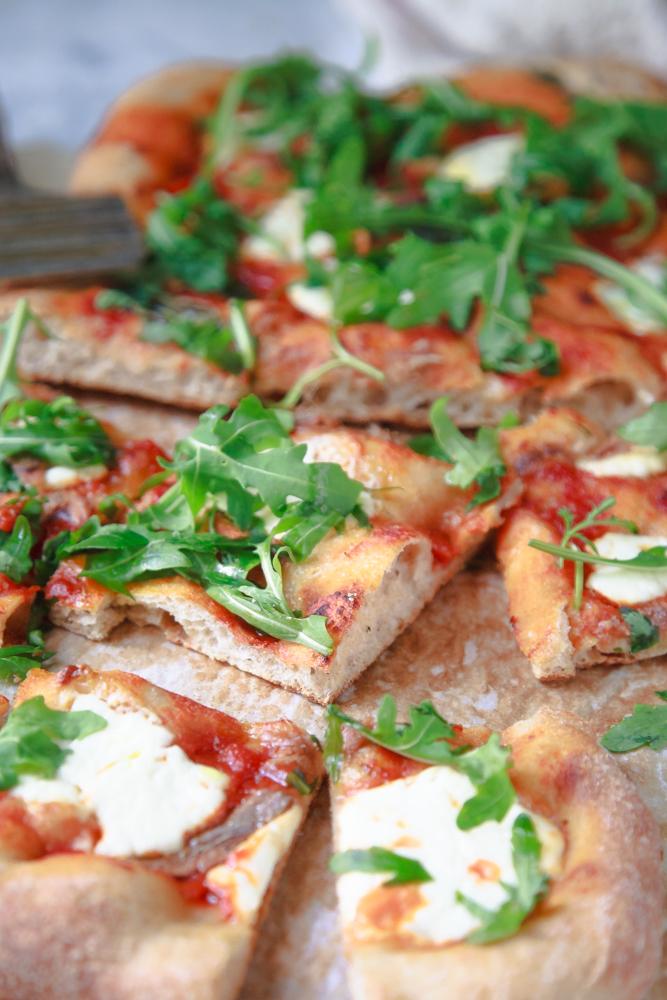 Pizza integrale alla pala