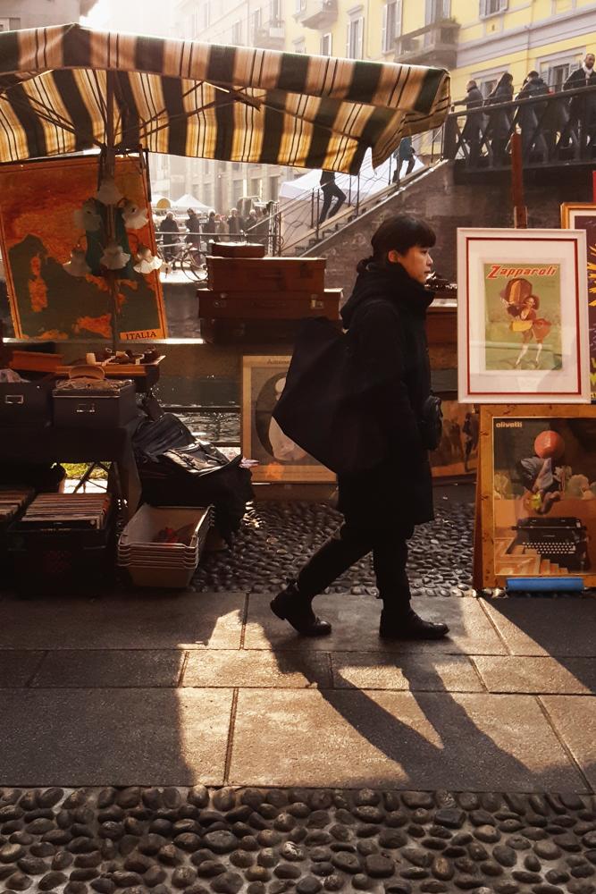 Milano-Mercato dell'antiquariato