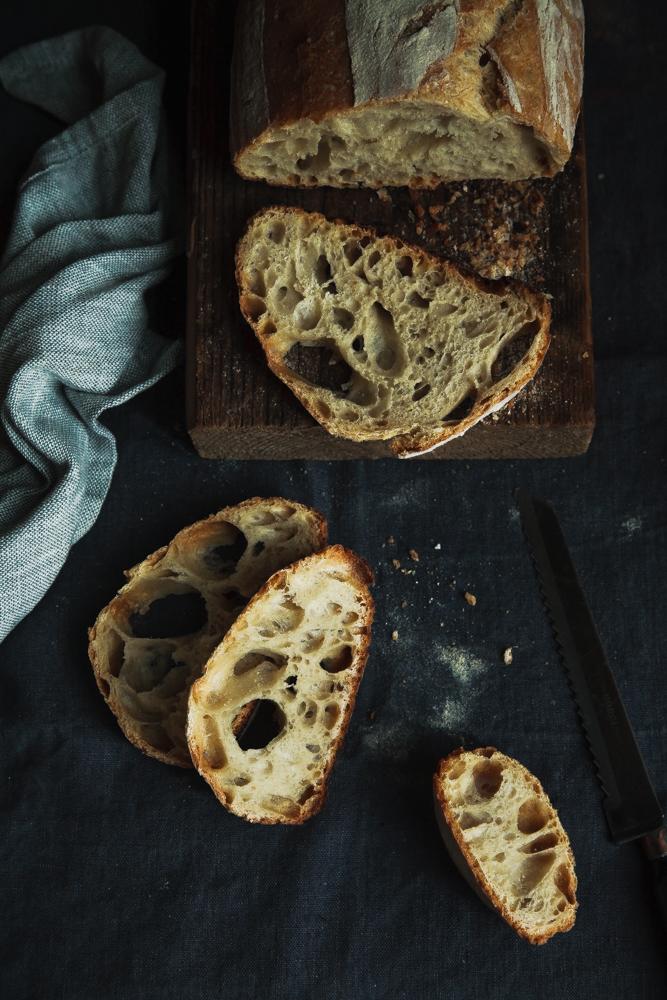 Pagnotta con farina di grano Tritordeum