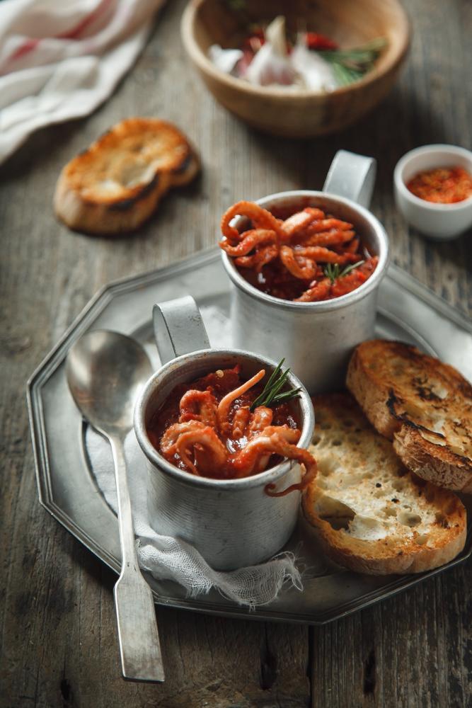 Moscardini piccanti in umido-2