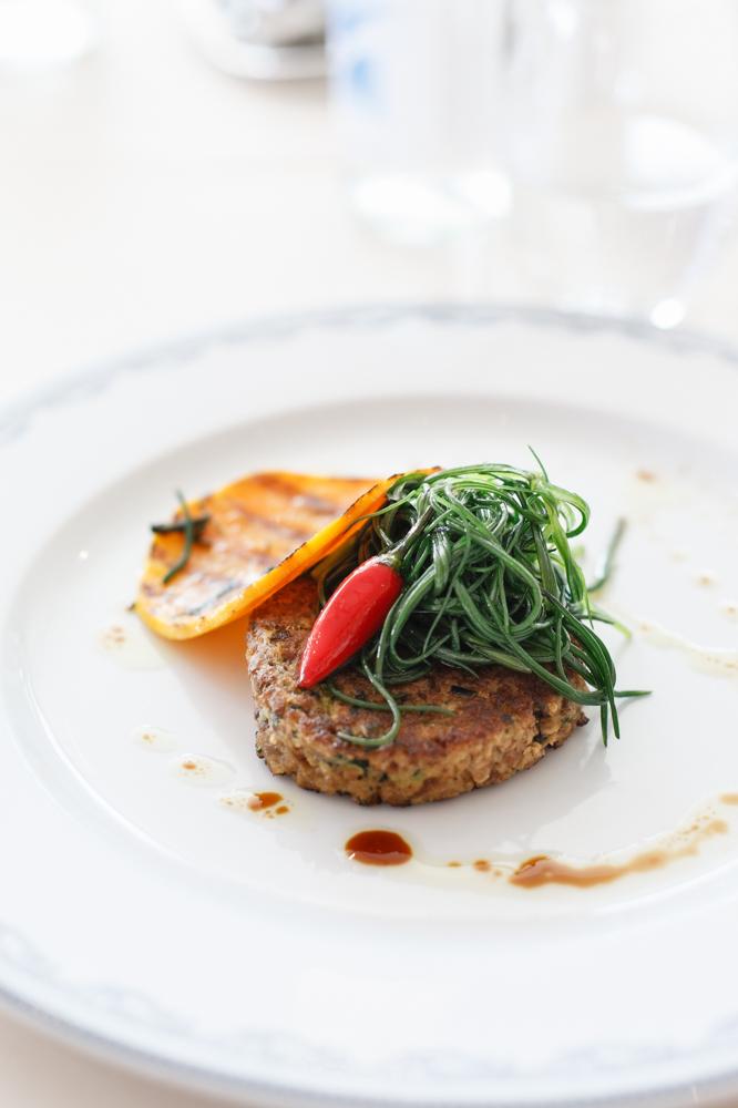 Hamburger di seitan con agretti piccanti_